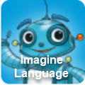 Imagine learning language and literacy icon